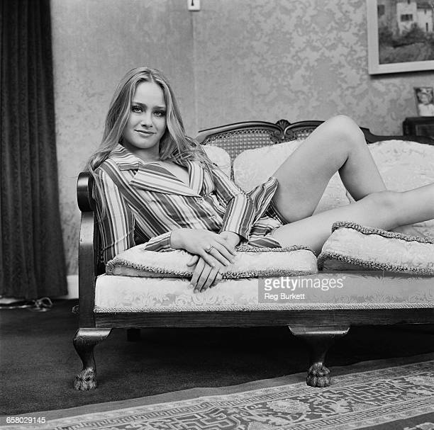 English actress Linda Hayden UK 13th August 1971