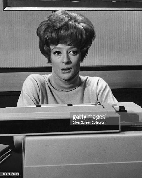 English actress Maggie Smith as Patty Terwilliger Smith in 'Hot Millions' directed by Eric Till 1968