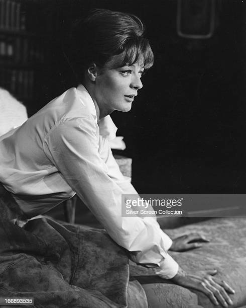 English actress Maggie Smith circa 1965