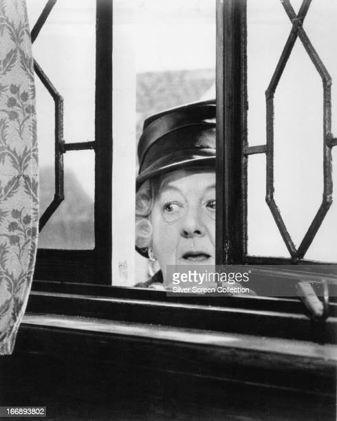 English actress Margaret Rutherford as Jane Marple in 'Murder At The Gallop' directed by George Pollock 1963