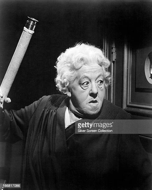 English actress Margaret Rutherford as Miss Jane Marple in 'Murder She Said' directed by George Pollock 1961
