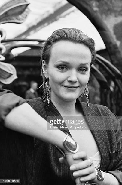 English actress Miranda Richardson posed in London on 26th February 1985