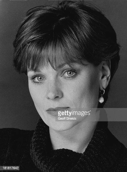 English actress Samantha Bond London 1995