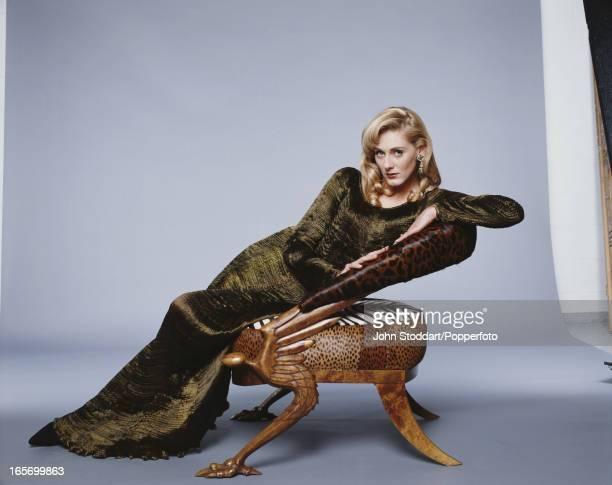 English actress Sarah Lancashire posed in 1994