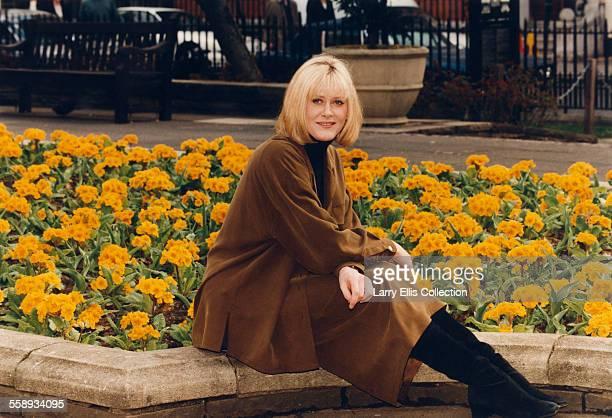 English actress Sarah Lancashire UK circa 1997