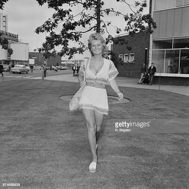 English actress Stephanie Beacham UK 28th August 1971