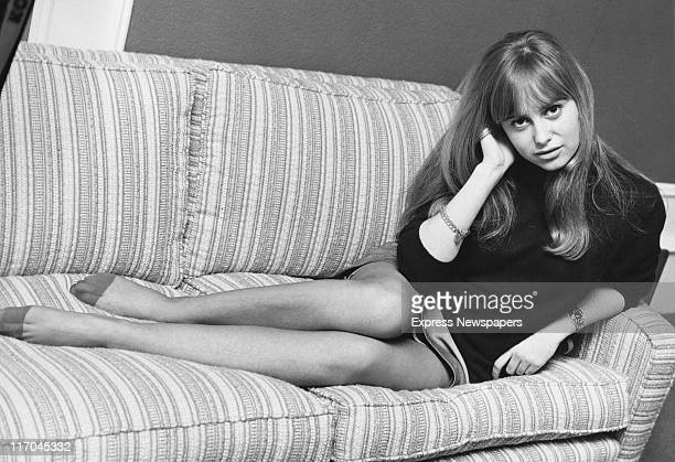 English actress Susan George in London 2nd December 1968