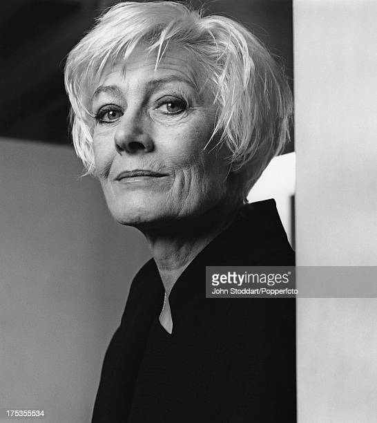 English actress Vanessa Redgrave posed in 1996