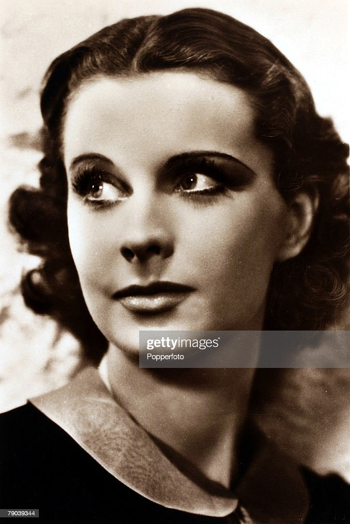 CinemaPersonalities circa 1940 English actress Vivien Leigh portrait perhaps most famous for her part as Scarlett O'Hara in the 1939 classic 'Gone...
