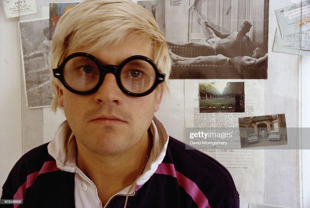 English artist David Hockney 25th August 1969