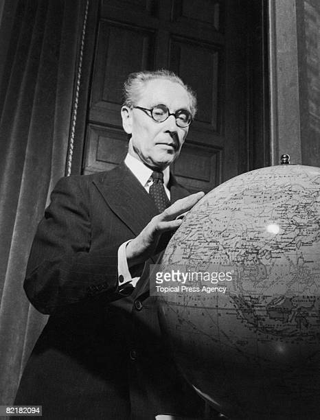 English athlete politician and diplomat Philip John NoelBaker 1946 After World War I NoelBaker helped found the League of Nations and in 1959 won the...