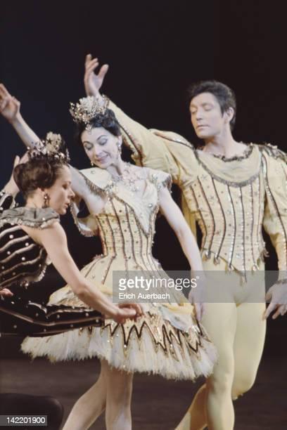English ballerina Margot Fonteyn and SouthAfrican dancer Maryon Lane performing circa 1965