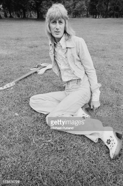 English bassist Dee Murray of Elton John's backing group August 1973