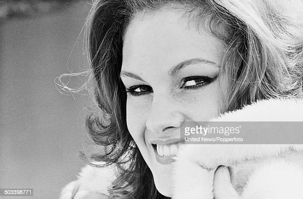 English beauty queen and winner of the Miss World beauty contest in 1983 SarahJane Hutt posed in London on 3rd August 1984