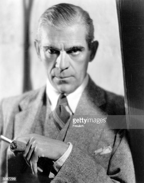 English born American horror movie star Boris Karloff He became the quintessential Frankenstein but also played an impressive Captain Hook in 'Peter...