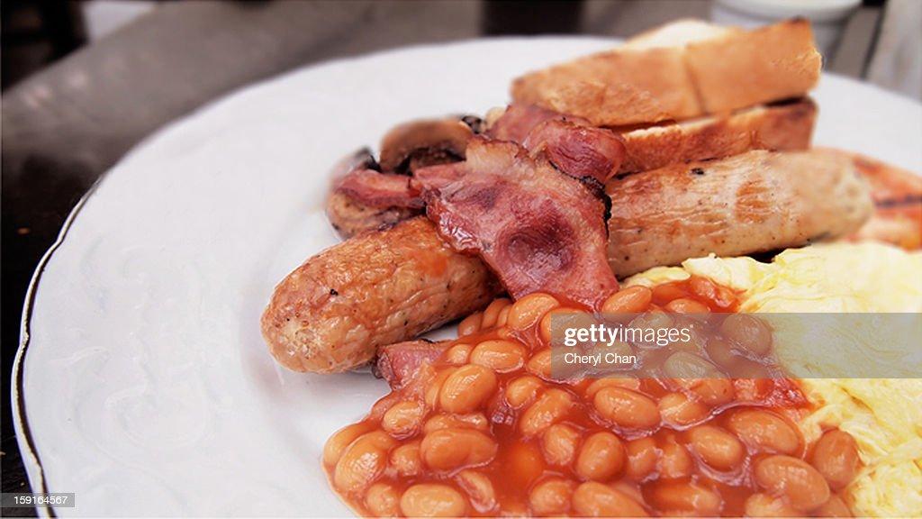 English breakfast : Stock Photo