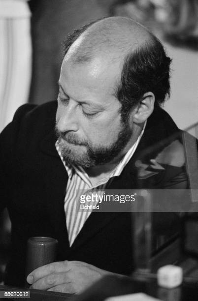 English broadcaster writer politician and chef Clement Freud playing backgammon in a tournament aboard the QE2 on 16th April 1974