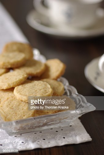 English Butter Cookies : Stock Photo
