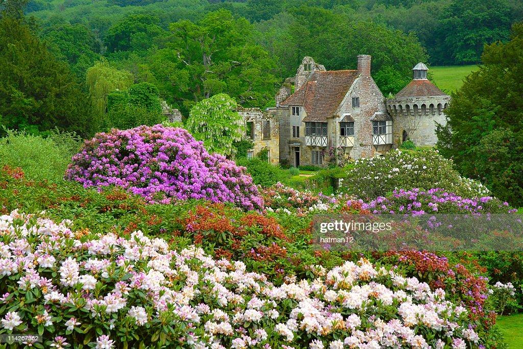 English castle country scene