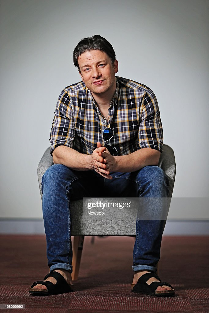Jamie Oliver Portrait Shoot