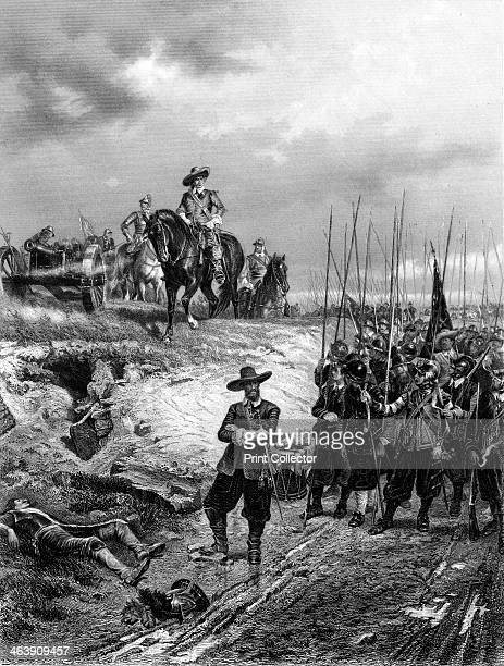 Oliver Cromwell at the Battle of Marston Moor 2 July 1644 The Parliamentarians under Thomas Fairfax defeated the Royalists at this battle in...