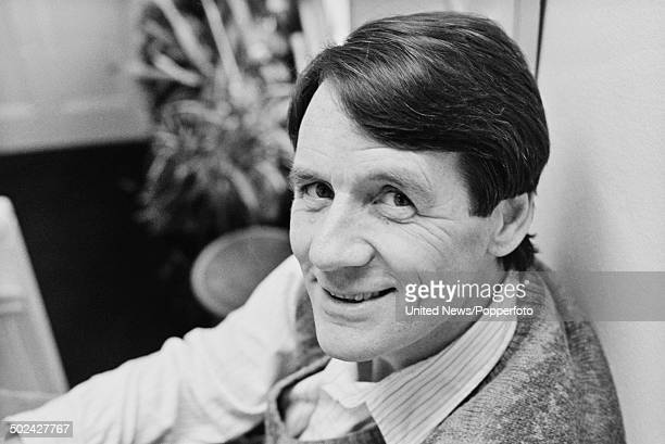 English comedian actor and writer Michael Palin posed at home in London on 4th March 1986