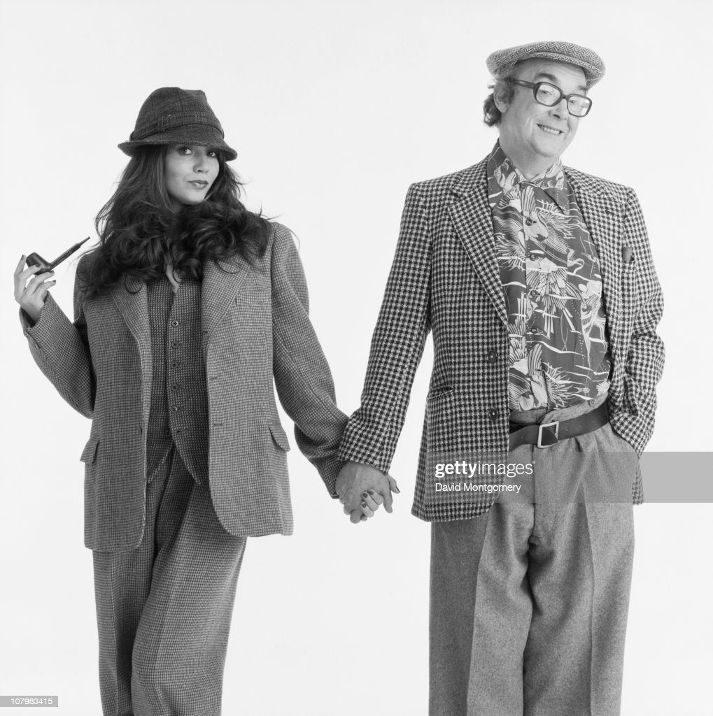 English comedian <a gi-track='captionPersonalityLinkClicked' href=/galleries/search?phrase=Eric+Morecambe&family=editorial&specificpeople=215236 ng-click='$event.stopPropagation()'>Eric Morecambe</a> (1926 - 1984), 8th February 1982.