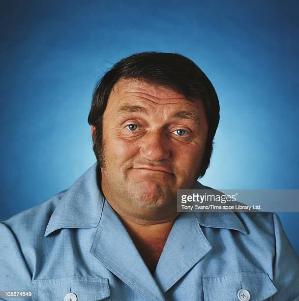 English comedian Les Dawson 1977