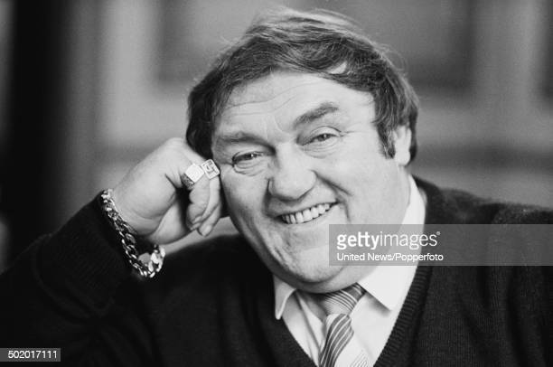 English comedian Les Dawson posed in London on 10th March 1986