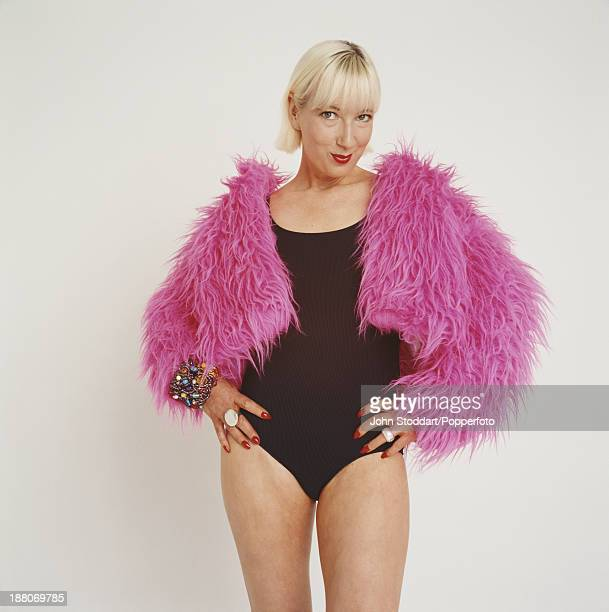 English comedian novelist and actor Jenny Eclair 1994
