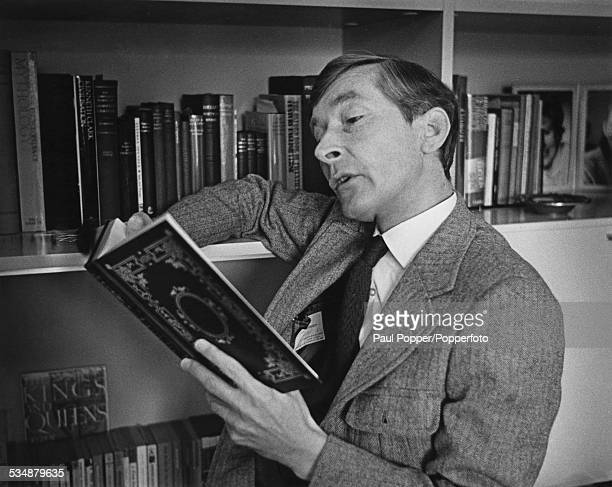 English comic actor and comedian Kenneth Williams circa 1975