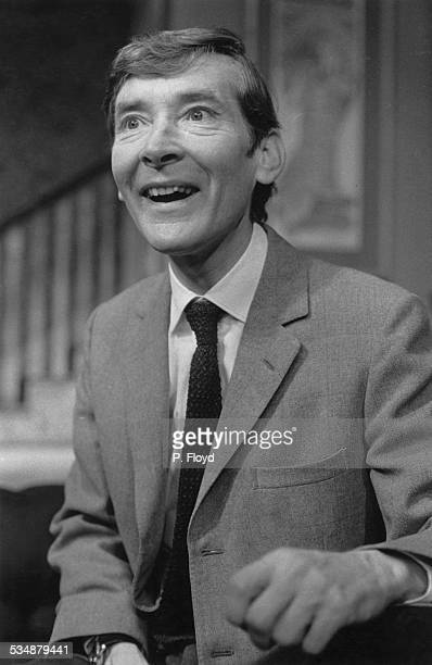 English comic actor and comedian Kenneth Williams in a production of Charles Laurence's stage comedy 'My Fat Friend' directed by Eric Thompson at the...