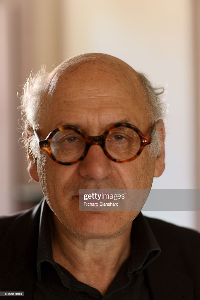 English composer Michael Nyman, circa 2009.