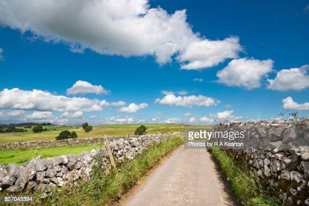 English country lane in summer