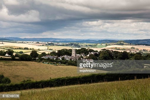 English Countryside Village : Stock Photo