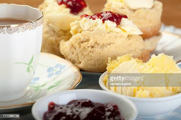 Englischem Cream Tea