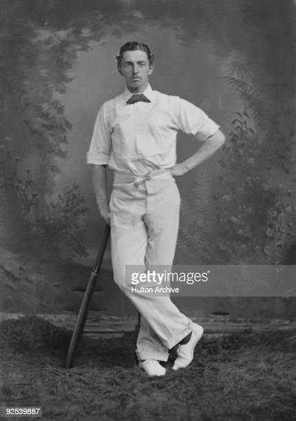 English cricketer Charles Studd circa 1882 He died in the Belgian Congo carrying out missionary work