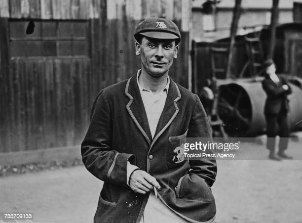 English cricketer Jack Hobbs at Blackheath London where he is playing for Surrey against Kent 20th July 1925