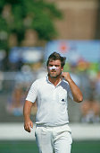 English cricketer Mike Gatting during the 1st test match between England and Australia at Brisbane Australia November 1986