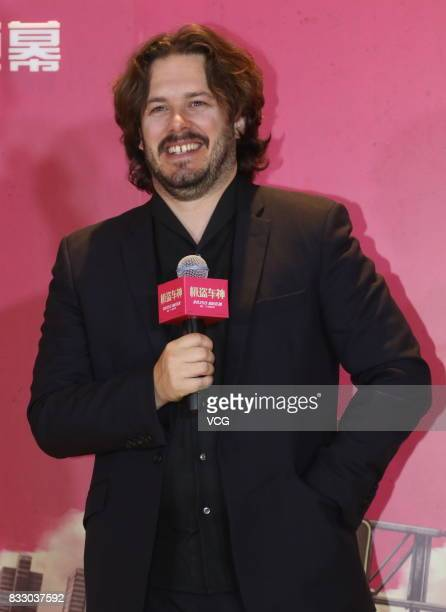 English director Edgar Wright attends the premiere of film 'Baby Driver' on August 16 2017 in Beijing China