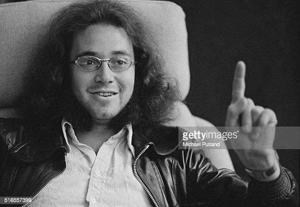 English drummer Ian Paice of British rock group Deep Purple April 1974