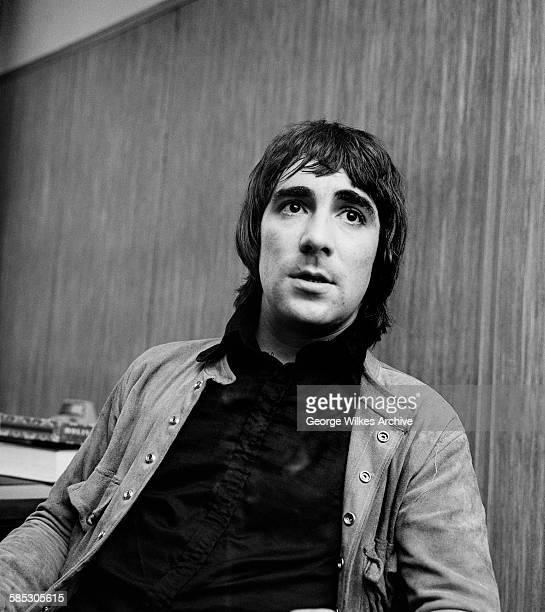 English drummer Keith Moon of English rock band The Who