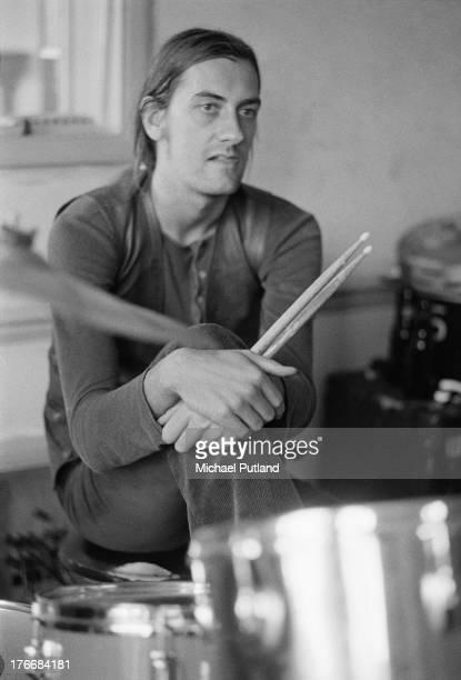 English drummer Mick Fleetwood of pop group Fleetwood Mac September 1973