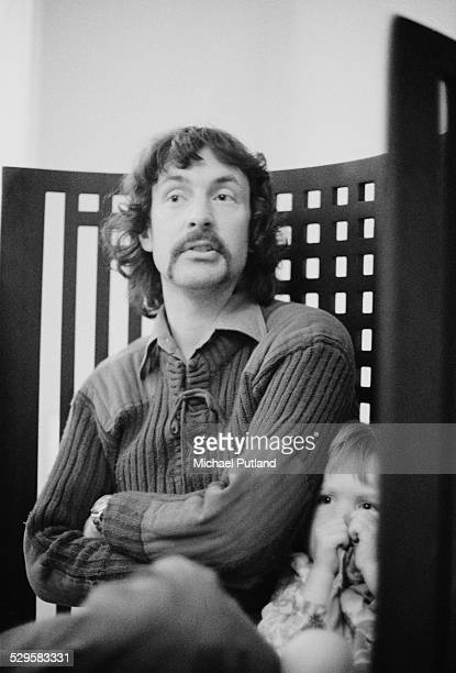 English drummer Nick Mason of rock group Pink Floyd 9th August 1974