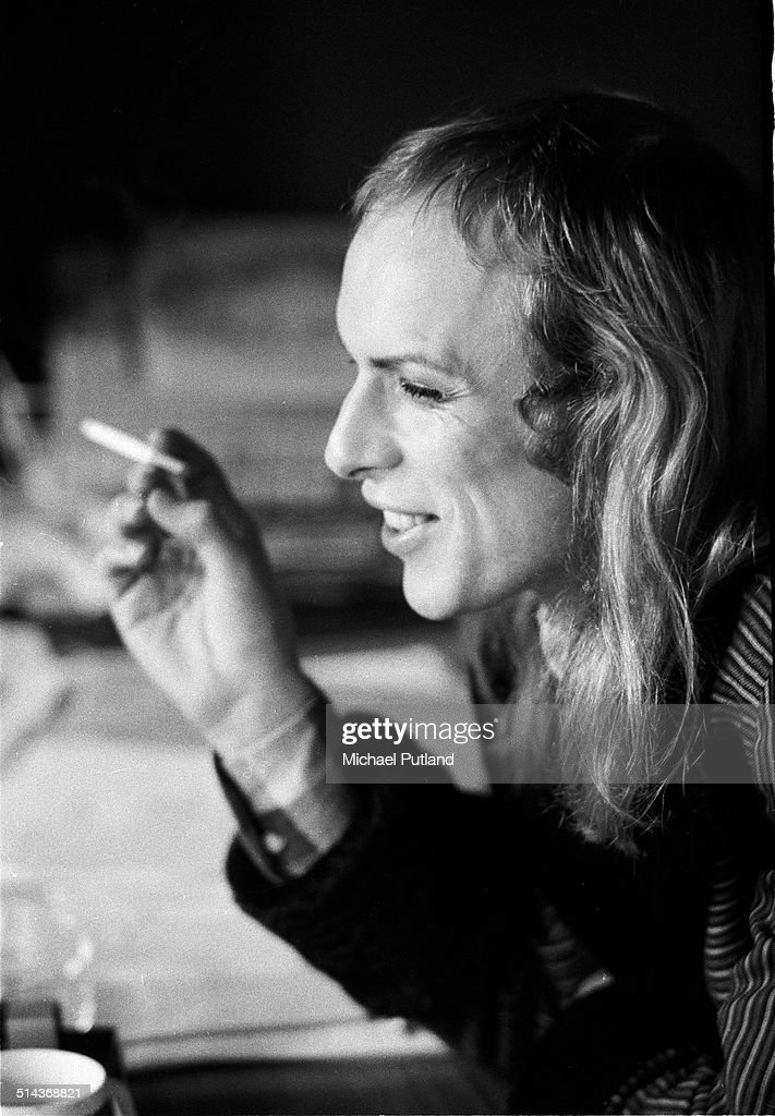 English electronic musician Brian Eno, of rock group Roxy Music, London, 2nd March 1973.