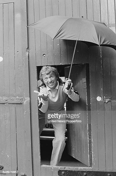 English entertainer actor and singer Tommy Steele who appears on the West End stage in a production of the musical Singin' in the Rain pictured...