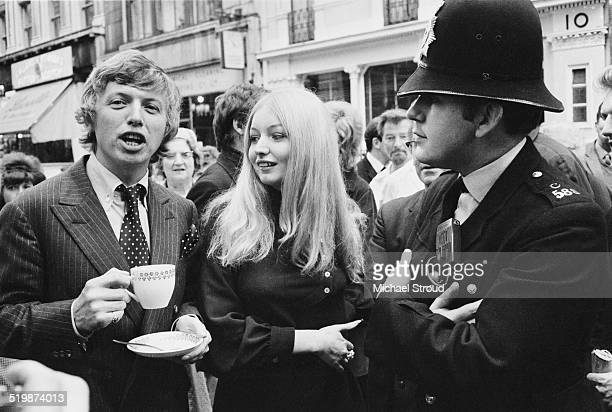 English entertainer Tommy Steele and Welsh folk singer Mary Hopkin announce they are to star in Dick Whittington at the London Palladium London 1969