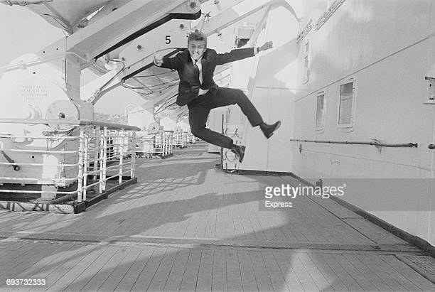 English entertainer Tommy Steele in America 28th January 1965