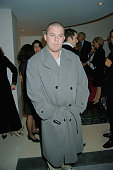 English fashion designer Alexander McQueen at a launch party for the new Valentino store in Sloane Street London 21st October 1996