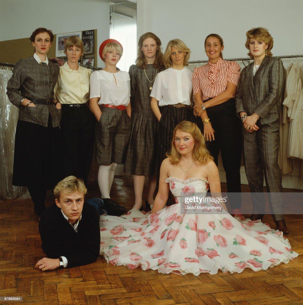 English fashion designer Jasper Conran, circa 1985.